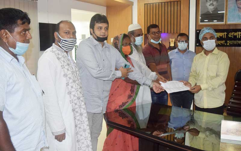Loak Morcha Submits Memorandum to UNO Demanding Transparent Purchase of Paddy from the Farmers